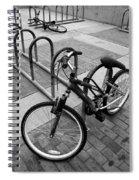 Standing Lying Down Spiral Notebook