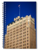 Standing Tall In San Antonio Spiral Notebook
