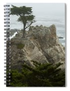 Standing Tall On The Rock Spiral Notebook