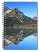 Stanley Lake Sawtooth Mountains Spiral Notebook