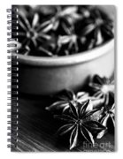 Star Anise Dish Spiral Notebook