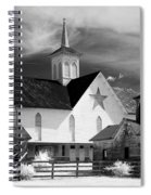 Star Barn Complex In Infrared Spiral Notebook