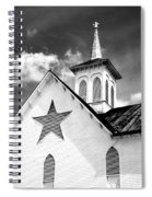 Star Barn Infrared Spiral Notebook