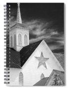 Star Barn Star Spiral Notebook