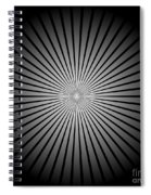 Star Black Spiral Notebook