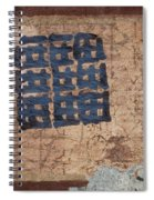 Star Chart Faded Spiral Notebook