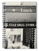 Star Drug Store Marquee Spiral Notebook