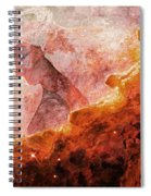 Star Dust Angel - Desert Spiral Notebook