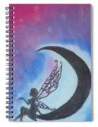 Star Fairy Spiral Notebook