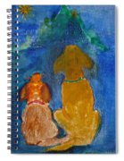 Star Gazing Spiral Notebook