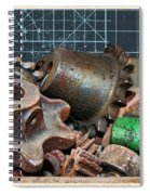 Star Gears Spiral Notebook