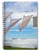 Star Island Clothesline Spiral Notebook