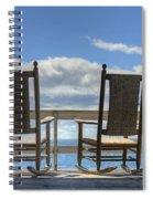 Star Island Rocking Chairs Spiral Notebook