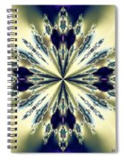 Star Jewel Fractal Spiral Notebook