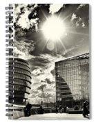 Star Light At City Hall Spiral Notebook