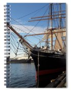 Star Of India  Spiral Notebook