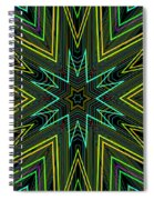 Star Of Threads Spiral Notebook