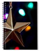 Star Ornament Spiral Notebook