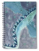 Star Sign Scorpio As A Dragon Spiral Notebook