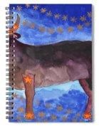 Star Sign Taurus Spiral Notebook