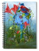 Star Spangled Birdie Spiral Notebook