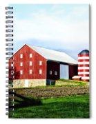 Star Spangled Farm Spiral Notebook
