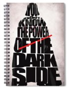 Star Wars Inspired Darth Vader Artwork Spiral Notebook