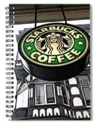 Starbucks Logo Spiral Notebook
