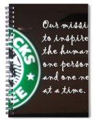 Starbucks Mission Spiral Notebook