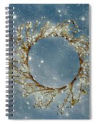 Stardust And Pearls Spiral Notebook