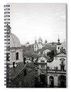 Serene Prague Spiral Notebook