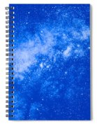Starfield Spiral Notebook