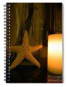 Starfish Candleglow Still Life Spiral Notebook