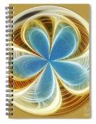 Starfish To Flower - Orb 2 Spiral Notebook