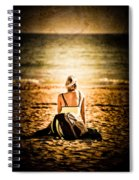 Staring At The Horizon Spiral Notebook