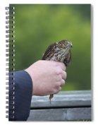 Staring Back Spiral Notebook
