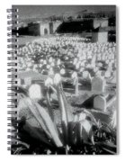 Surreal Cemetery Spiral Notebook