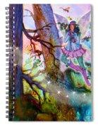 Starr Lynn Holly Berry Fairy Spiral Notebook