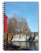 Starr's Mill In Senioa Georgia Spiral Notebook