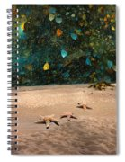 Starry Beach Night Spiral Notebook