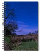 Starry Night Above Hadrians Wall Spiral Notebook