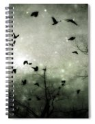 Starry Night Reflections Spiral Notebook