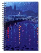 Starry Night In Dublin Spiral Notebook