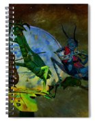 Starry Summer Night Spiral Notebook