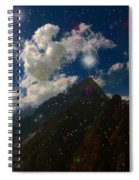 Stars And Planets On Mont Blanc Spiral Notebook