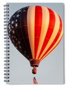 Stars And Stripes Spiral Notebook
