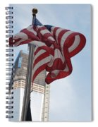 Stars And Stripes And 1 W T  C Spiral Notebook