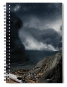 Stars Over Salt Water Spiral Notebook