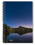 Stars Reflect In Cawfield Quarry Spiral Notebook