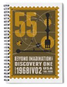 Starschips 55-poststamp -discovery One Spiral Notebook